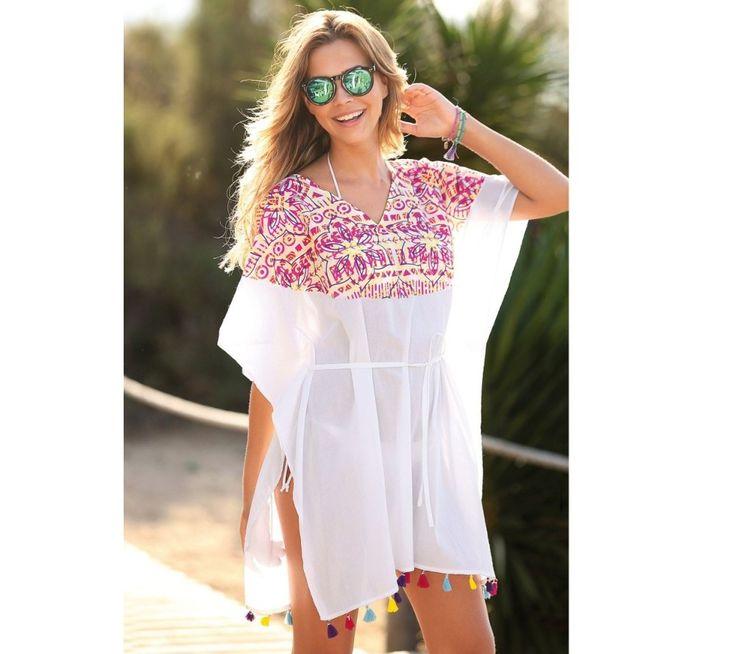 Plážová tunika s potlačou | modino.sk #ModinoSK #modino_sk #modino_style #style #fashion #bluzka #tunika #kosela
