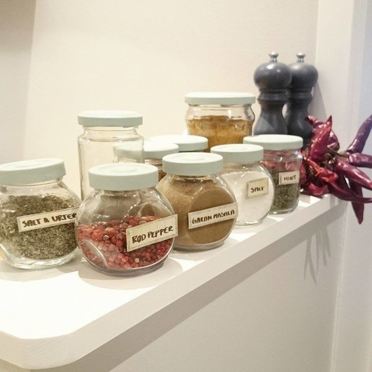Best Mason Jar DIY ever. For displaying spizes. Spotting an IKEA hack here to.