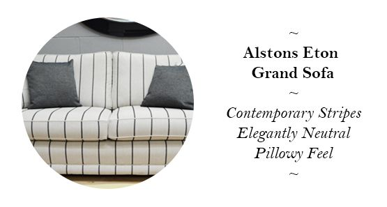 Alstons Upholstery Eton Grand Sofa - Reduced from £1,249 to £899!
