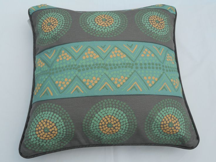 Bright and funky hand printed , 5 colour design. $39.00