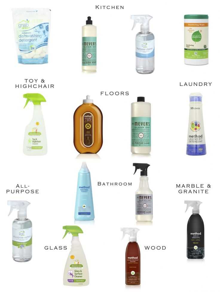 Non-Toxic, Cruelty-Free Cleaning Products