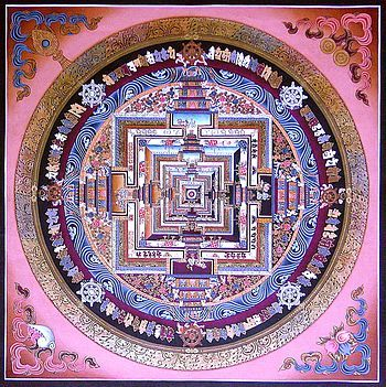 Thangka de Kalachakra1 du monastère de Séra (collection privée).