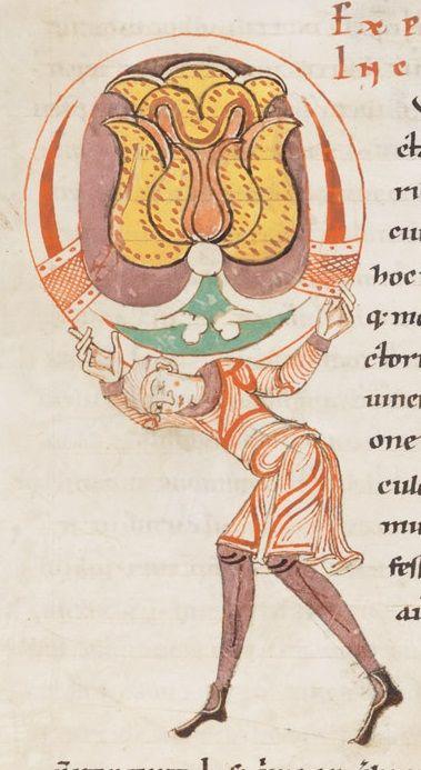 Engelberg, Stiftsbibliothek, Cod. 20: Gregorius M., Moralia in Job, t. I · 1143-1178 Langue:Latin----- (http://www.e-codices.unifr.ch/fr/list/one/bke/0020)