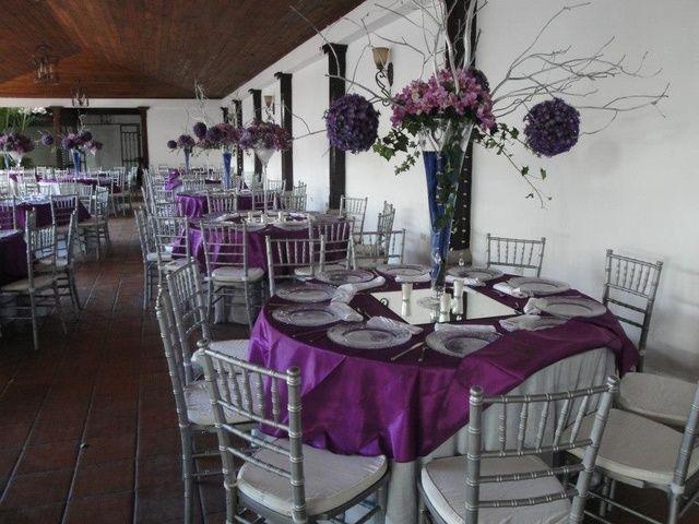 Purple U0026 Silver Wedding Party Ideas