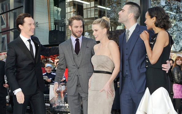 Benedict Cumberbatch and Zachary Quinto - 'Star Trek Into Darkness' Premieres in London 8