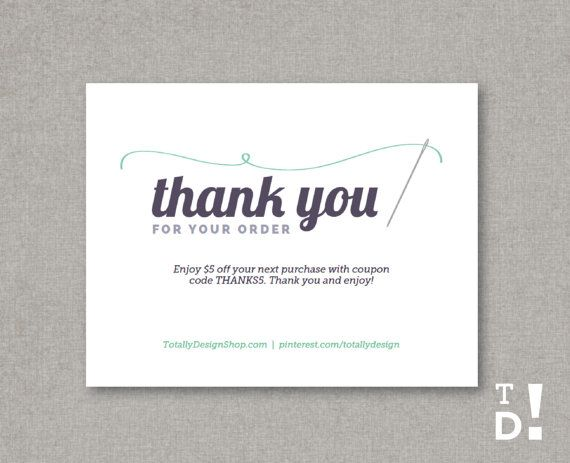 ... Business Thank You Cards on Pinterest : Printable thank you cards