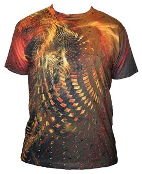Software artist Scott Draves has released a new limited edition T-shirt that is printed with abstract algorithmic artwork from the Electric Sheep collective intelligence. Electric Sheep is a piece ...