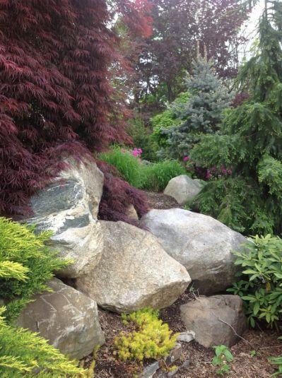 Landscaping with boulders | boulder                                                                                                                                                     More