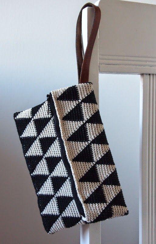 Crochet Tapestry Bag Inspiration ❥ 4U // hf