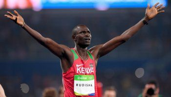 David Rudisha from Kenya solidifies himself as an all-time great with an  Olympic 800m win at Rio 2016