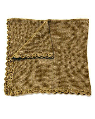 Zum Kuscheln: Edle Decken stricken (Seite 7) - BRIGITTE.de Babydecke im Muschelmuster