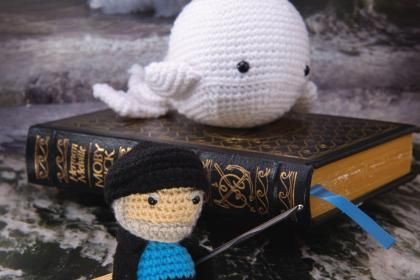 How to Crochet a Miniature Captain Ahab From 'Moby Dick' | Mental Floss