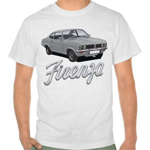 Vauxhall Firenza grey with text  #vauxhall #firenza #vauxhallfirenza #automobile #tshirt #tshirts #70s #classic