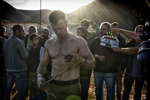 First day of principal photography complete and happy to report, BOURNE is back! #Bourne2016