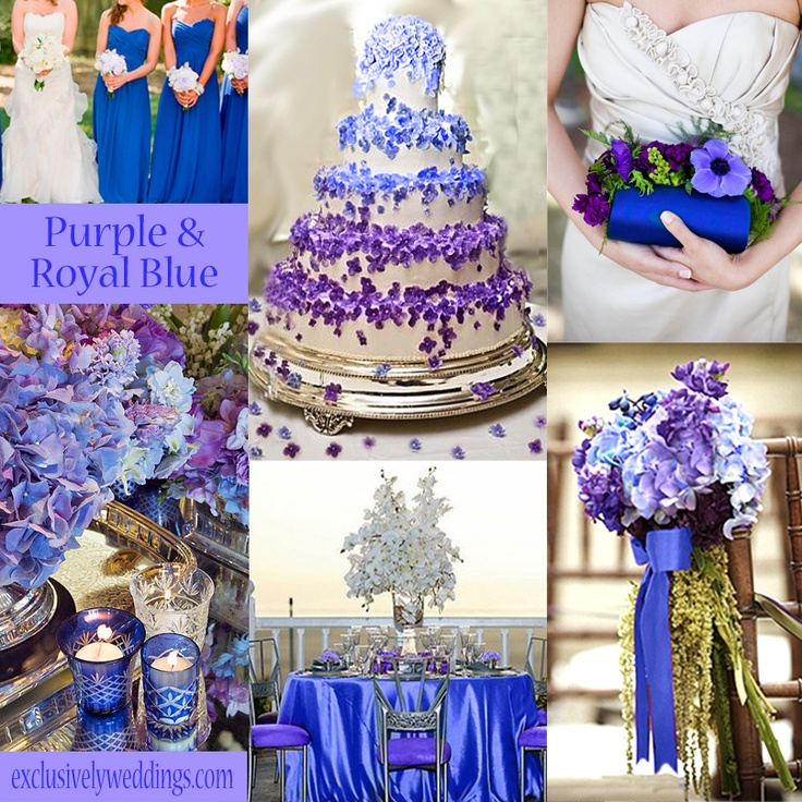 31 best Purple, Blue, Gray Wedding images on Pinterest | Blue gray ...