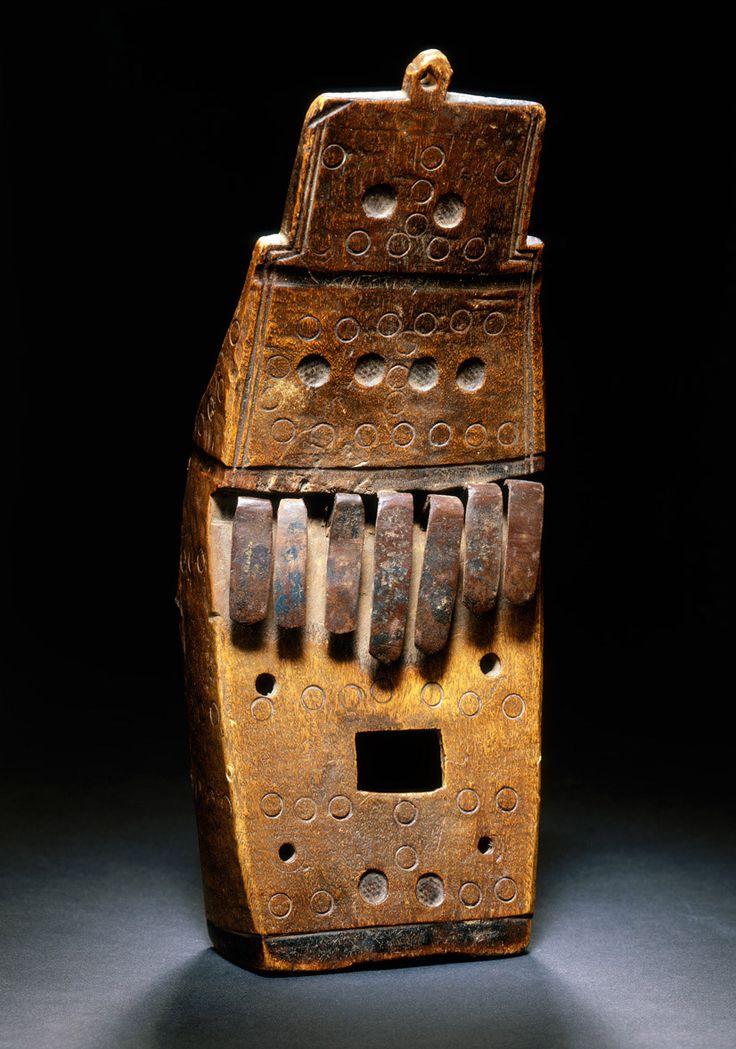 1867 African Lamellophone Instrument | wood metal | Fowler Museum at the University of California Los Angeles, California USA