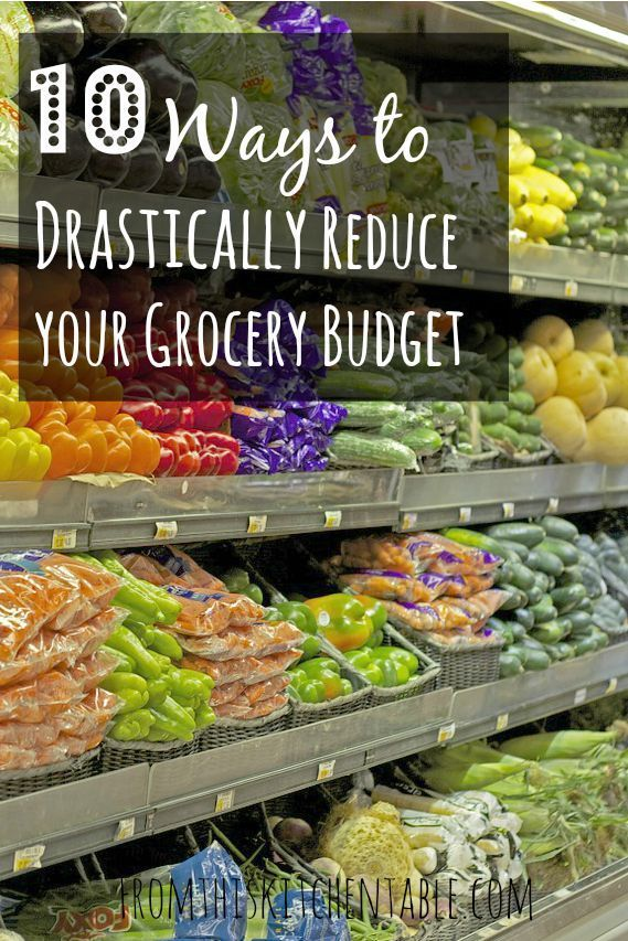10 ways to lower your grocery budget drastically that you are going to want to see! I feed my family of four on $150 a month!