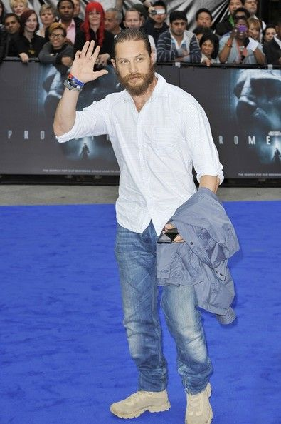 "Tom Hardy Photos - Charlize Theron at the London premiere of ""Prometheus"" - Zimbio"