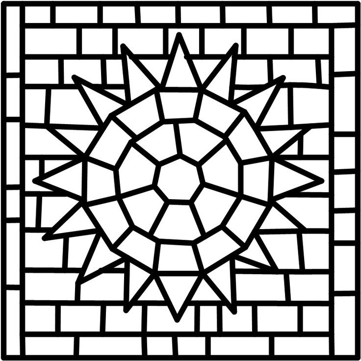 Image Result For Free Mosaic Patterns Free Mosaic Patterns Mosaic Patterns Easy Mosaic