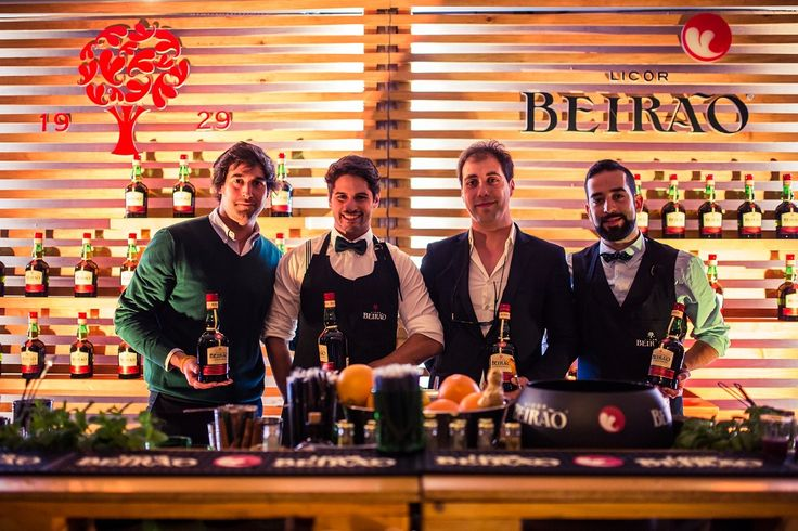 A equipa Licor Beirão presente no Perfect Serve Barshow Amsterdam.