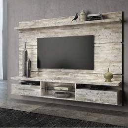 Home Suspenso para TV até 60 Polegadas Livin 165 x 220 x 35 Aspen - HB Móveis