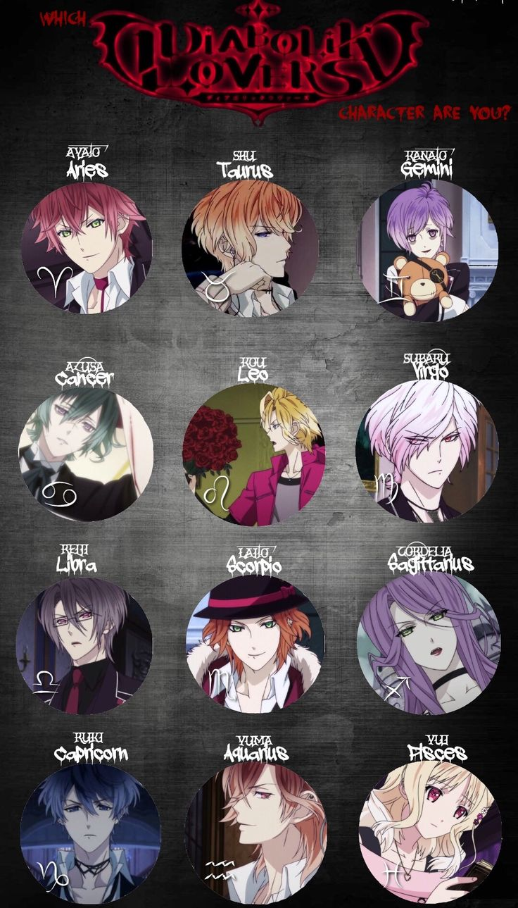 What's your sign? || Well judging by how Kanato has like two personalities, I'd say yeah. Definitely a Gemini trait