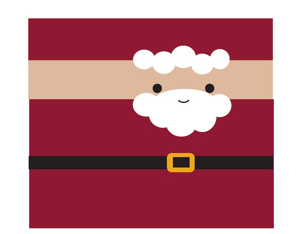 imprimible gratis navideño para envolver chocolatinas