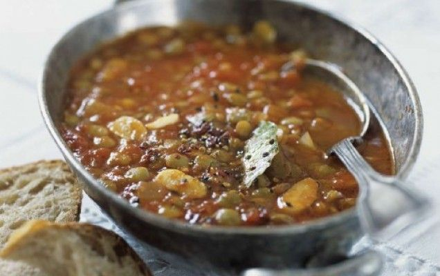 Συνταγή για φακές σούπα