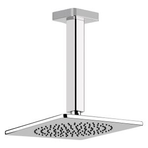 41252 - Gessi ISPA Vertical Shower 270mm Drop - Bathroom #abeyaustralia #gessi #showerhead