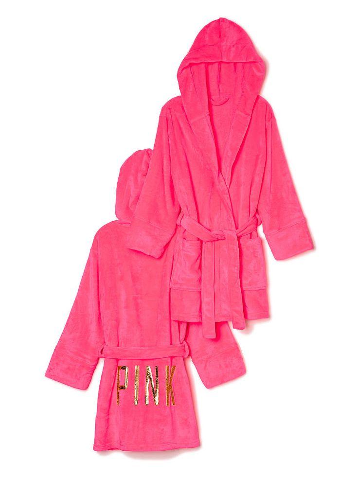 Plush Robe - PINK - Victoria's Secret