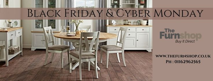 This Black Friday Discover our entire range of Dining Sets available at The Furn Shop. All products in this range are excellently crafted using high-quality materials and long-lasting. Give your home elegant look with our Bentley Designs and Willis and Gambier Dining sets available at hugely discounted prices, feel free to contact us at Ph: 01162962565. #BlackFriday2017 #FurnitureDeals #DiningSets