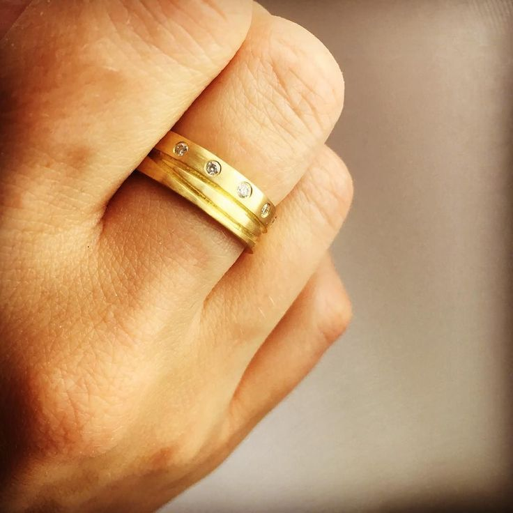 @ritapateljewellery my new ring is beautiful #18ctyellowgold #handmadejewelry #designermaker
