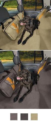 Kurgo Wander Hammock Dog Car Seat Cover and Dog Car Barrier Combo | Pet Crates Direct  - 1