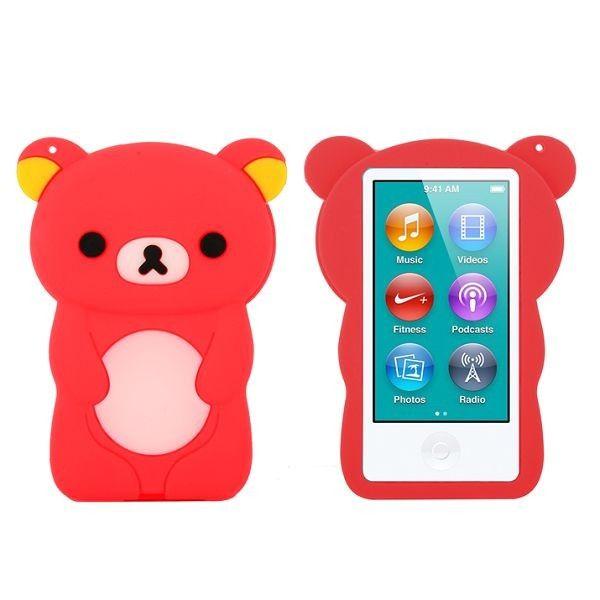 Happy Bear (Rød) iPod Nano 7 Deksler
