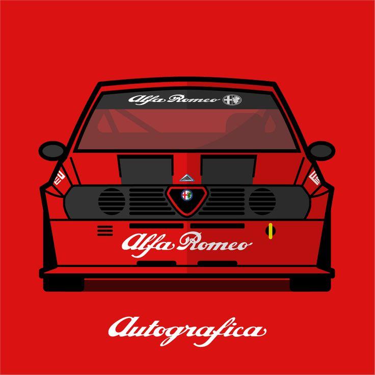Alfa Romeo Alfasud Sprint Trofeo Europa 1983
