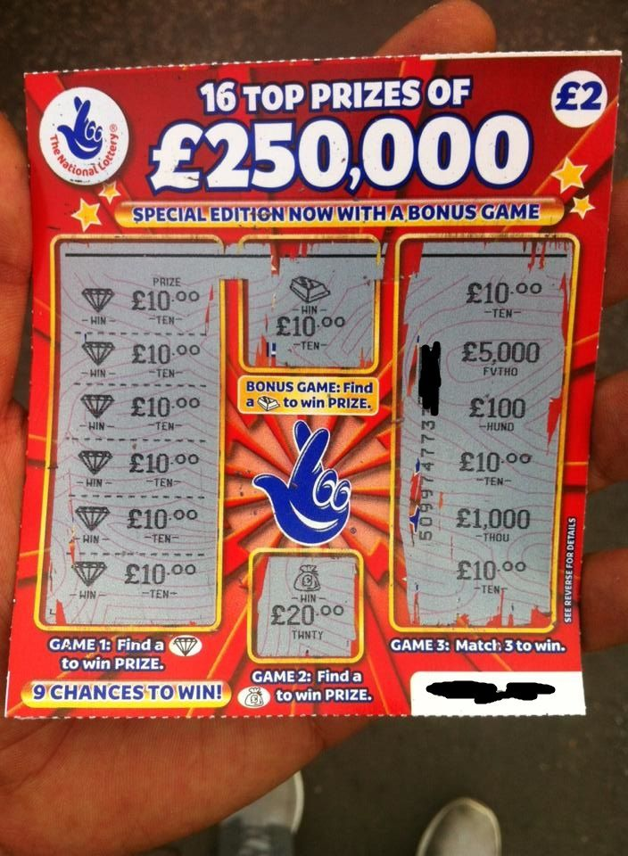 11 best images about Scratchcards on Pinterest | Examples ...