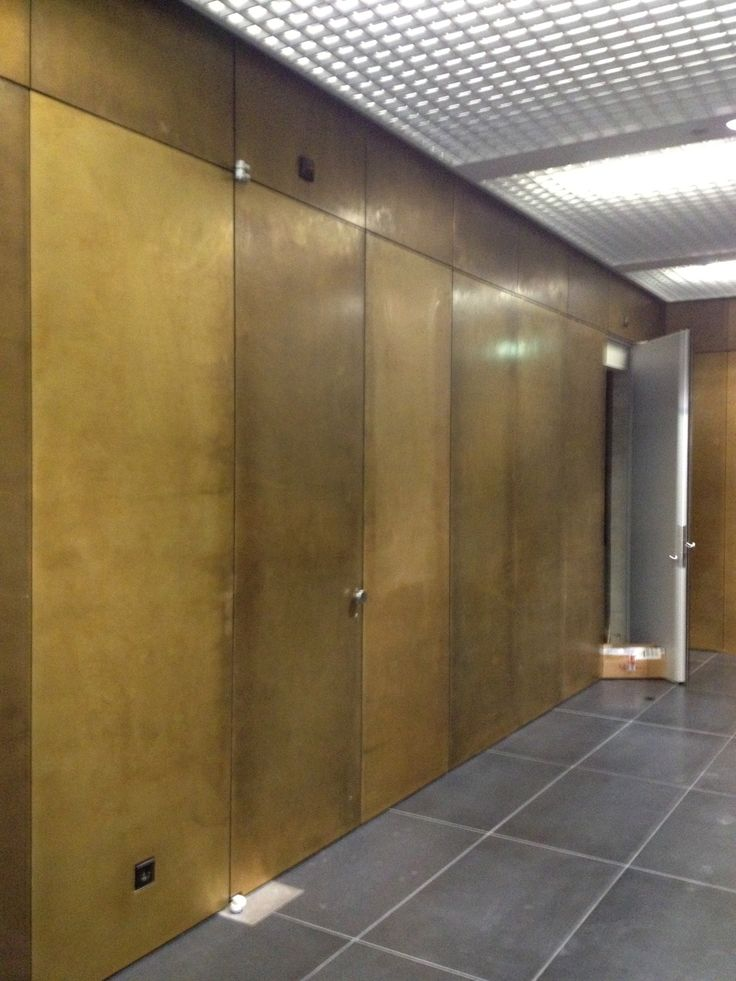 #Brass # Interior design of Rem Koolhaas #OMA #The Rotterdam