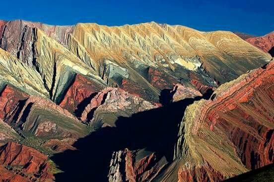 El Hornocal. Cerro de 14 colores. Jujuy. Argentina