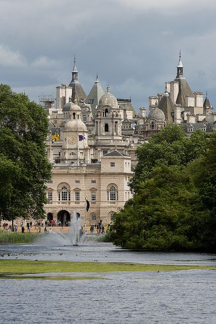 Horseguards from St James's Park - other side is Recovery Plus