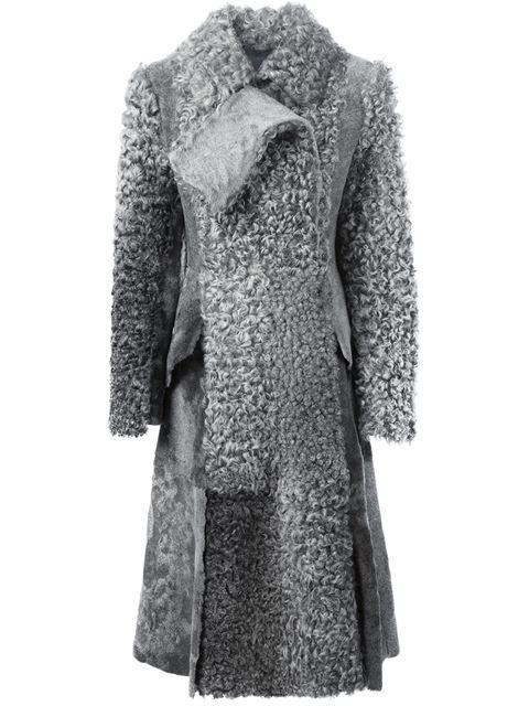 Shop Proenza Schouler swakara fur long coat  in O' from the world's best independent boutiques at farfetch.com. Shop 300 boutiques at one address.