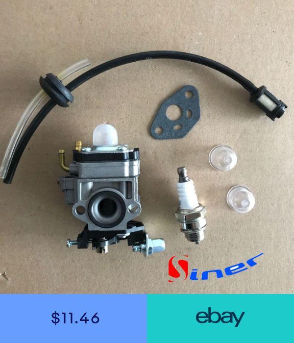 Carburetor for Walbro WYK186 WYJ138 Echo SRM PB PAS 260 261 T242X Fuel Line Kit