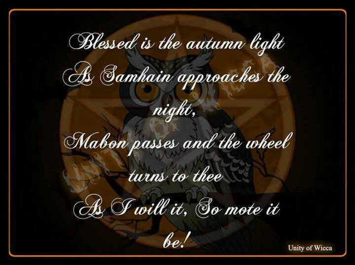 60 best samhain images on pinterest samhain halloween bruges and blessed be the autumn light as approaches samhain night mabon passes the wheel turns to thee m4hsunfo