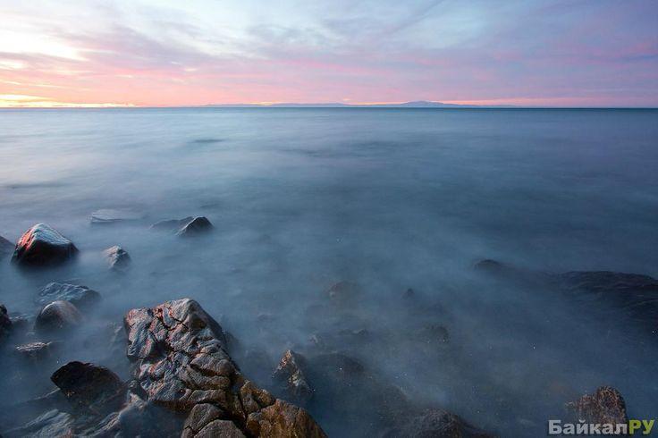 Фото Загадочный Байкал в тумане — Байкал