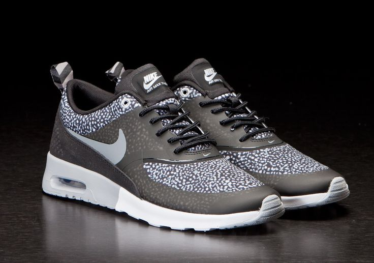 Nike Air Max Thea Black Cool Grey Wolf Grey Silver