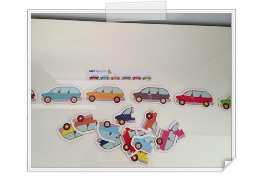 [Maternelle] Défis voitures - couleurs http://www.iticus.fr/?p=749