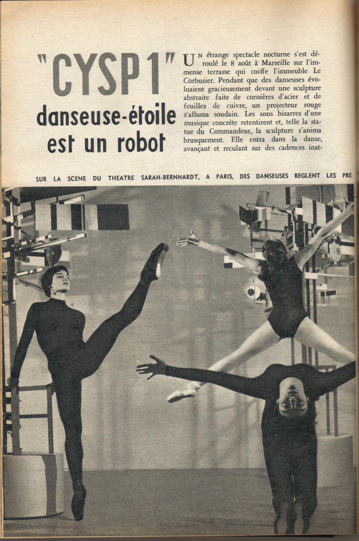 1956   CYSP 1    Nicolas Schöffer   (Hungarian/French)