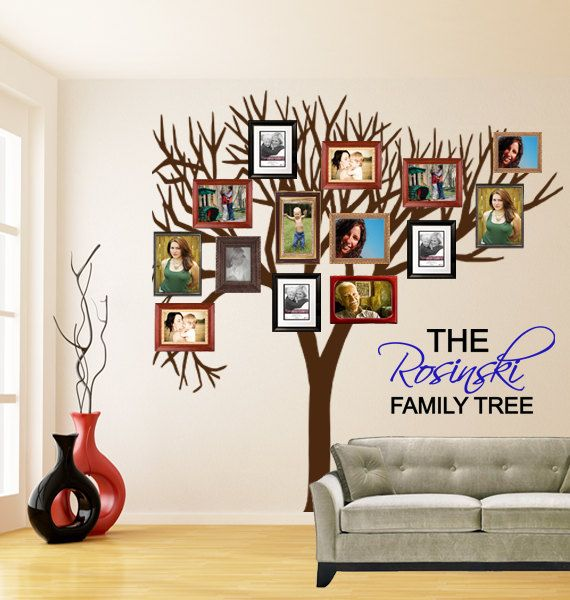 Family Tree Photo Wall 87 best creative photo walls images on pinterest | family trees