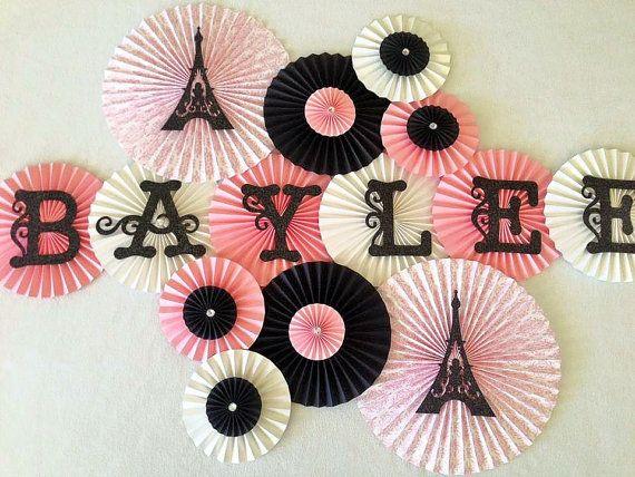 Decoración fiesta francesa. Fondo para tus fotografías. Backdrop Paris themed bridal shower.