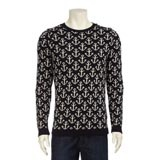 Knitted Patterned Jumper