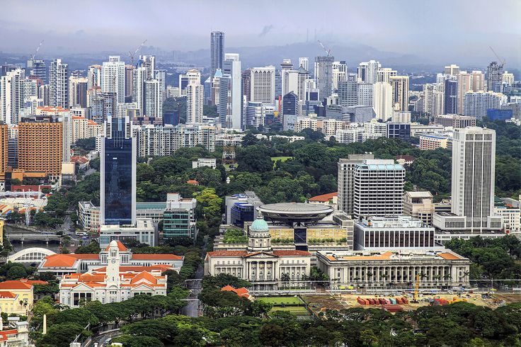 Singapore Cityscape from Marina Bay Sands | Flickr - Photo Sharing!